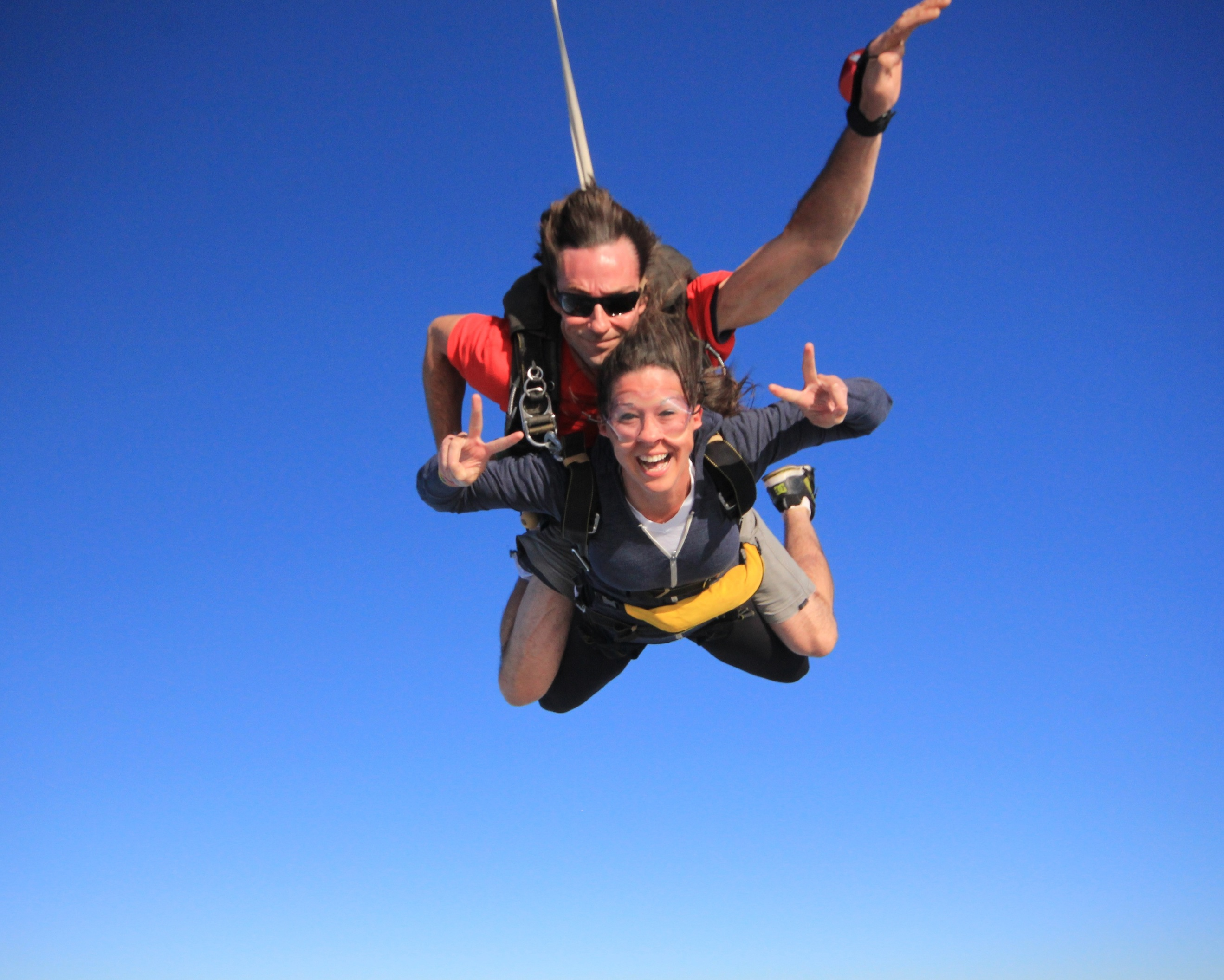 Skydiving…check!