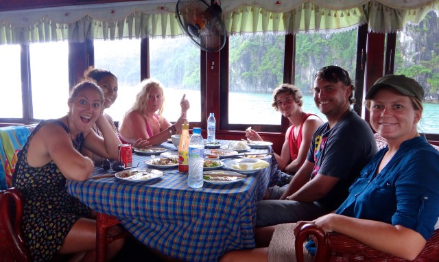 Last Lunch on the Boat