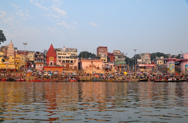 Ghats at Sunrise