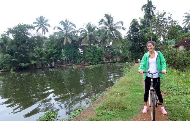 Kerala Backwaters Biking