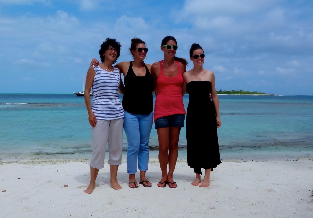 Susanna, me, Danielle & Rachel