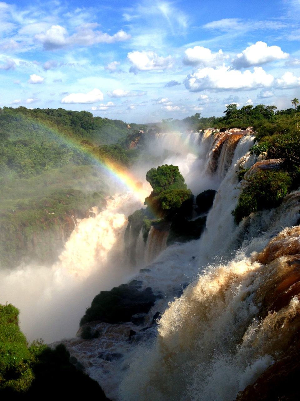 Waterfalls & Rainbows: two days at Iguazu Falls