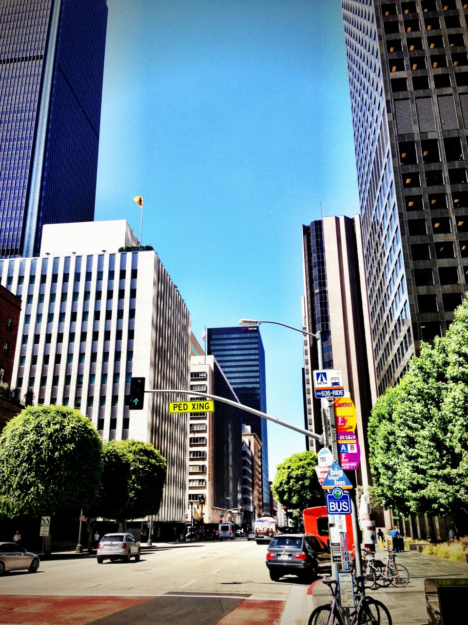 Los Angeles: By Bus