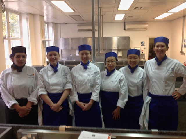 Pastry Students