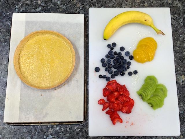 Pâte sucrée crust & fruit