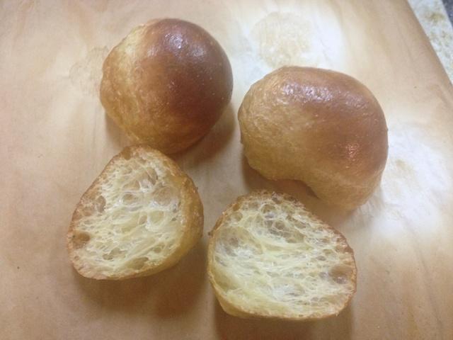 Baked gluten balls