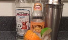 Ginger Blood Orange Cocktail