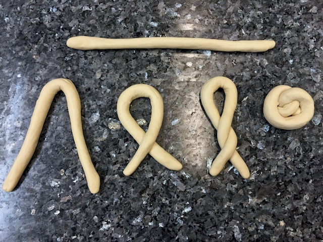 Pretzel Shaping Stages