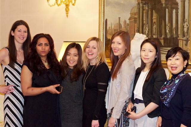 Pastry ladies: me, Shenika, Krystin, Jennie, Lulu, Yousub & Kauro