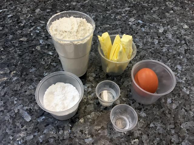 Sweet paste ingredients