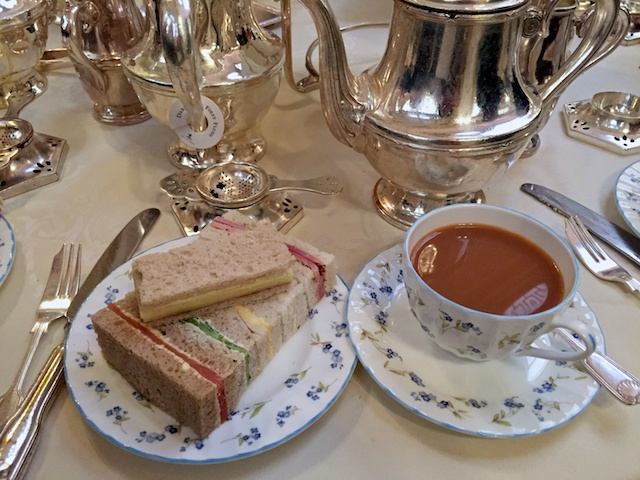 Afternoon tea and sandwiches (round one)