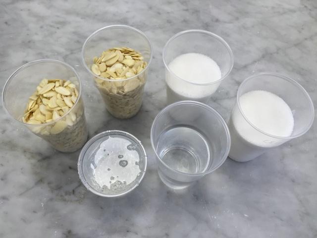 Nougatine ingredients