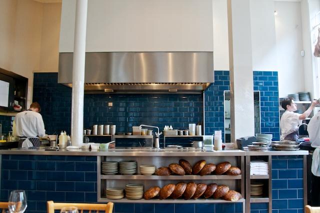 The Clove Club kitchen