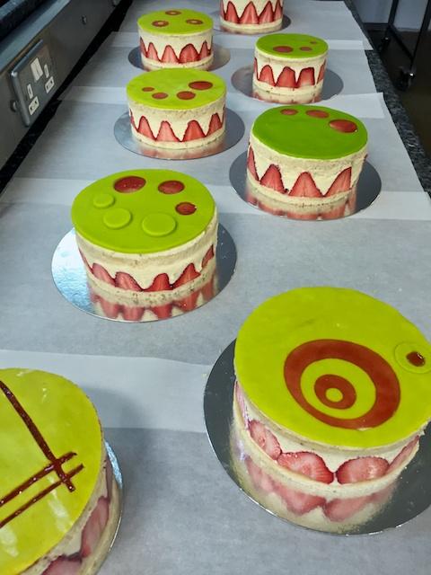 Class Gâteau Fraisiers