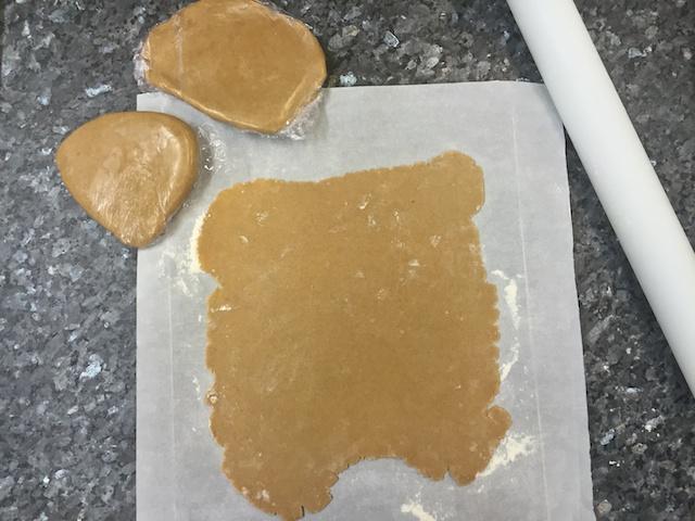 Cinnamon pastry dough