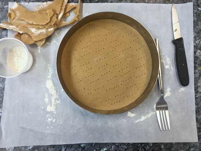 Shaping the dough to bake