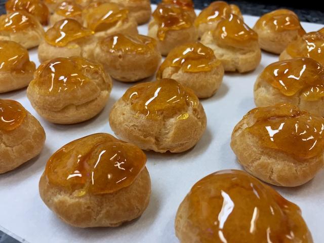Choux buns / Cream puffs / Profiteroles