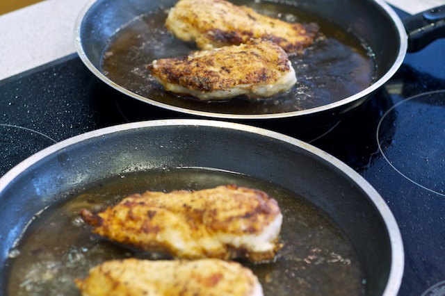 Frying chicken take two