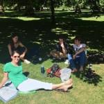 Post-exam park