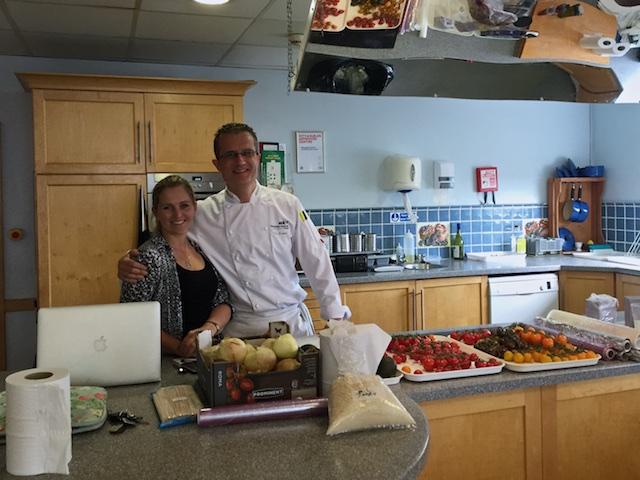 Chef Miranda & Chef Ian