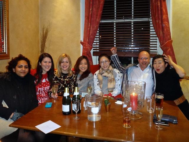 Pre-Christmas at the Pub