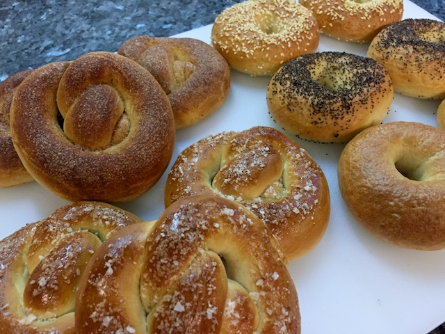 Bakery exam #3: pretzels & bagels