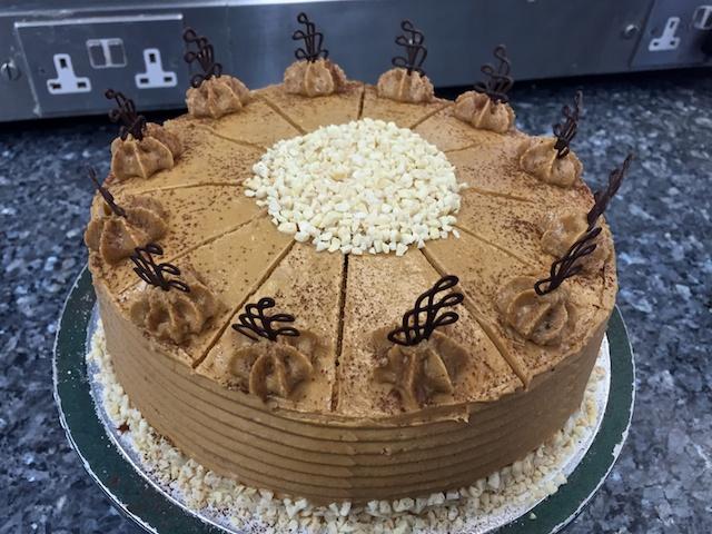 Patisserie Exam #3: Gâteau Mocha #2