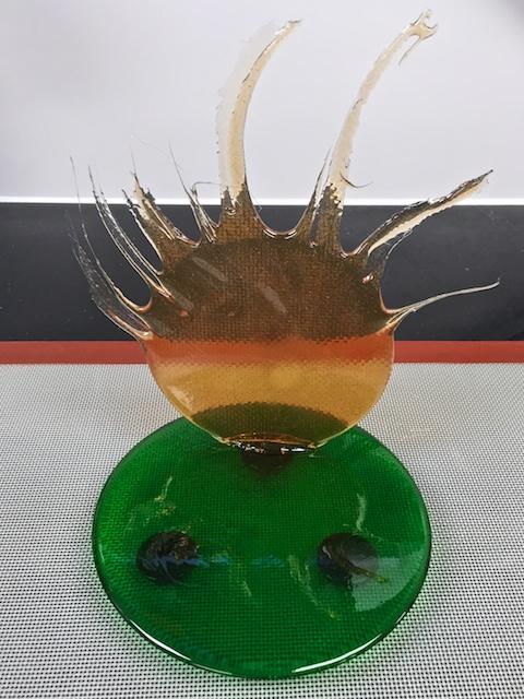 Isomalt Sugar Centerpiece #1