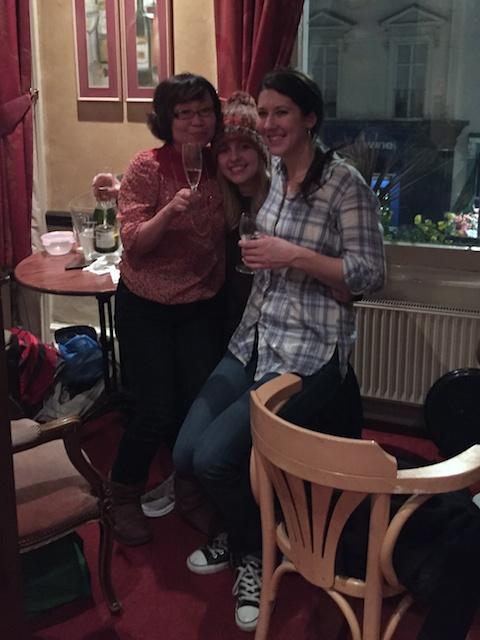 Kaoru, Jennie & Me post-class pub