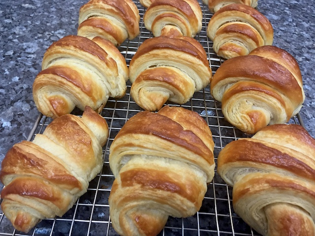 Bakery exam #2 (partial) - croissants