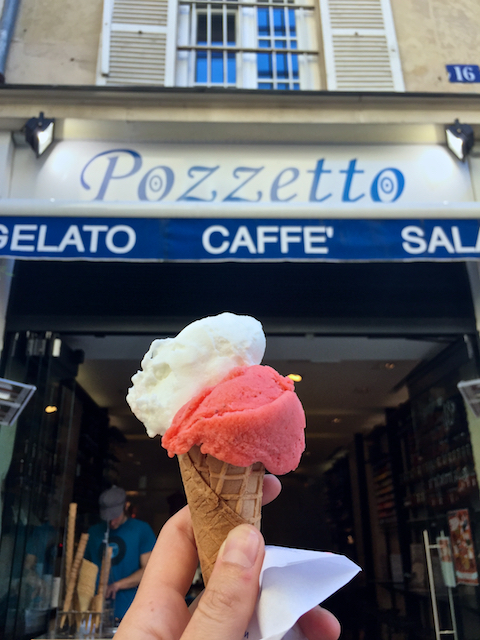 Pozzetto Lemon & Strawberry Gelato