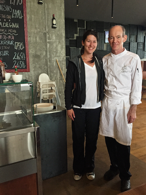Me & Chef Heidar