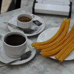 Churros and Chocolate in Spain