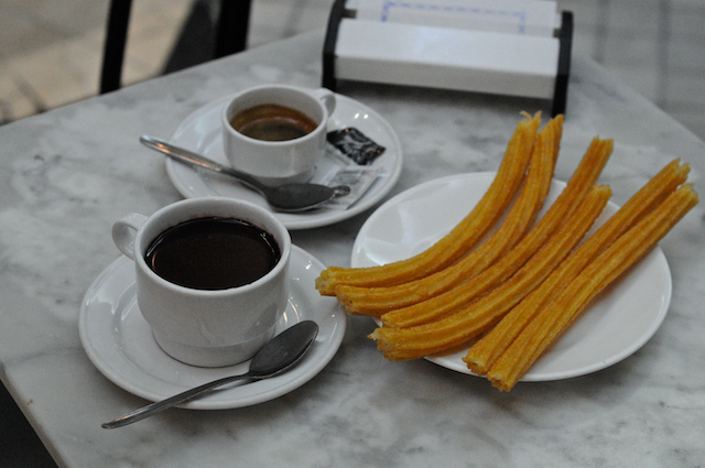 San Gines Churros and Chocolate in Spain