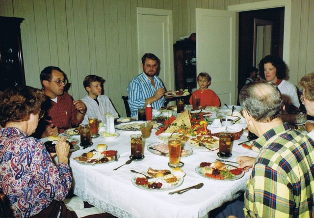 Cedar Springs Thanksgiving 1990