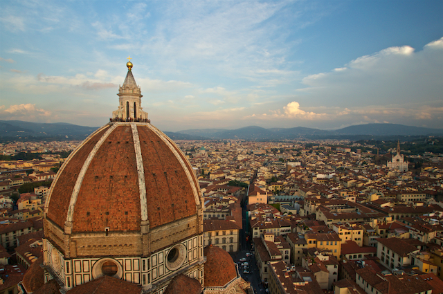 View of The Duomo in Florence