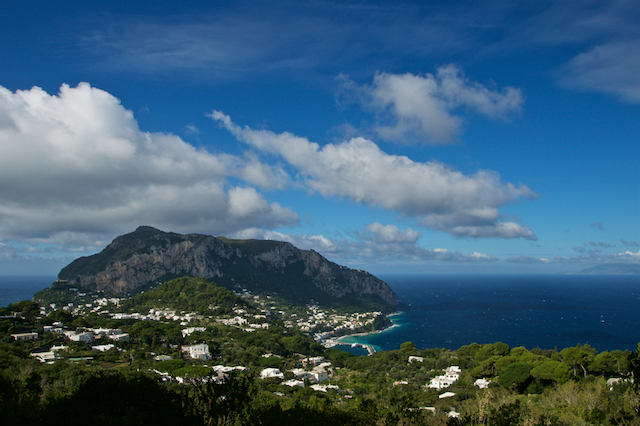 View from Villa Lysis Capri
