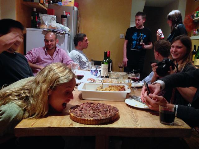 Brits enjoying Thanksgiving