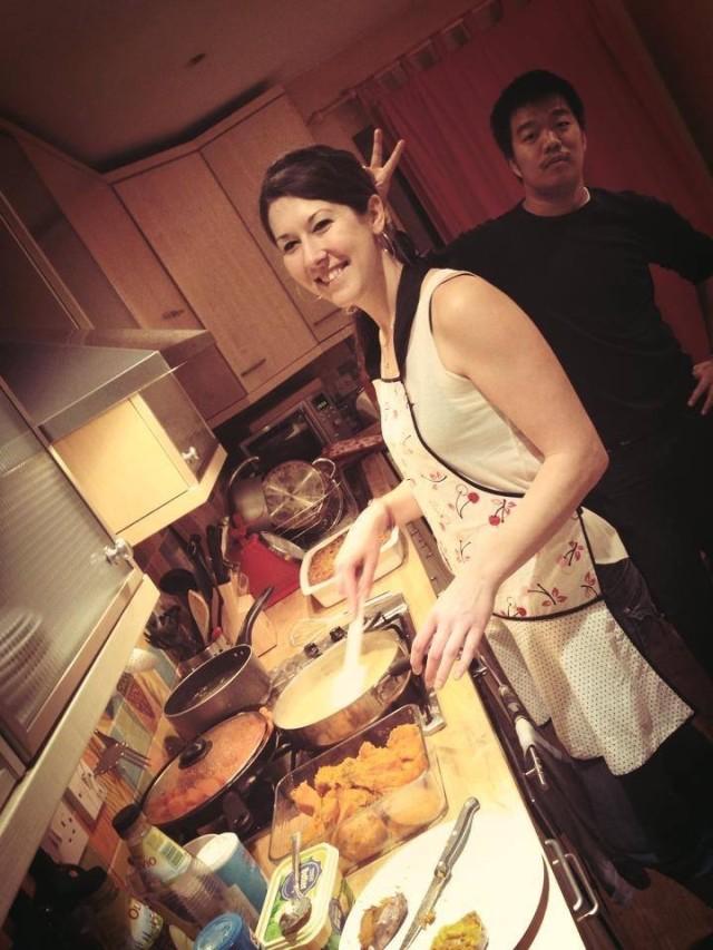 Cooking Thanksgiving