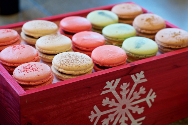 Pop-Up Macaron Display