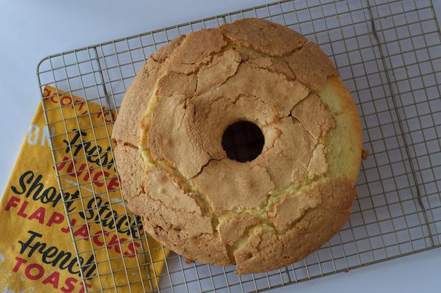 Sour Cream Pound Cake Round One