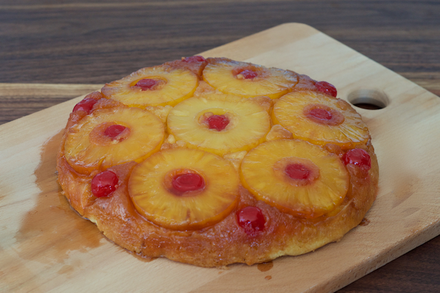 Pineapple Upside Down Cake Slice