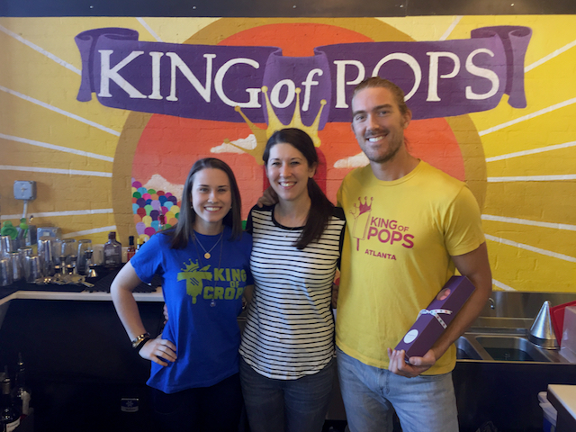 With the King of Pops