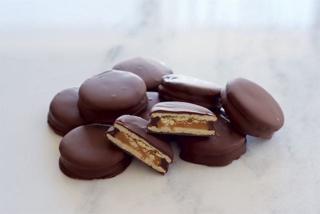 Chocolate Covered Alfajores
