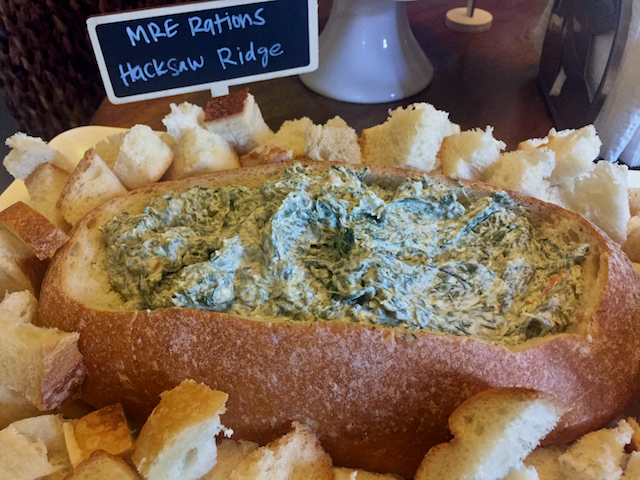 MRE Rations Spinach Dip
