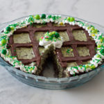 Mint Chocolate Chip Grasshopper Pie