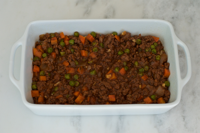 Guinness Shepherd's Pie in Dish