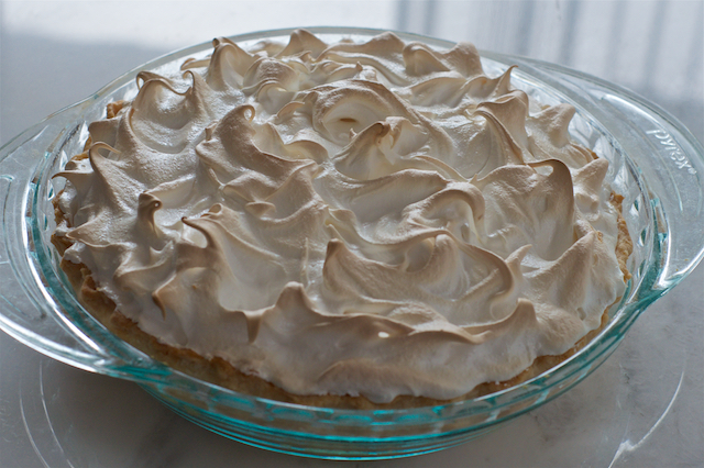 Meyer Lemon Meringue Pie Take One